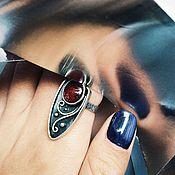 Украшения handmade. Livemaster - original item Tourmaline ring. Handmade.