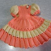 Куклы и игрушки handmade. Livemaster - original item dress for doll. Handmade.