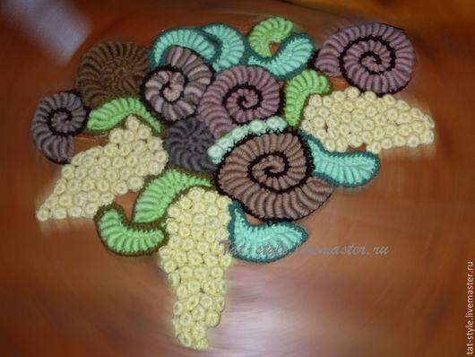 Текстиль, ковры ручной работы. Ярмарка Мастеров - ручная работа. Купить Эльфийский прикроватный коврик. Handmade. Вязаный коврик
