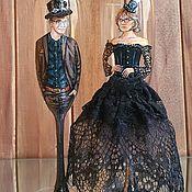 Свадебный салон handmade. Livemaster - original item Wedding glasses with portraits. Handmade.