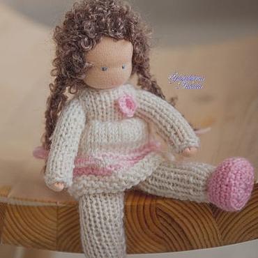 Куклы и игрушки ручной работы. Ярмарка Мастеров - ручная работа Сестренка - вальдорфская куколка. Handmade.