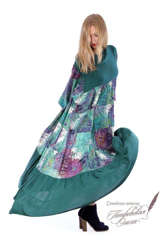 """Платья ручной работы. Ярмарка Мастеров - ручная работа. Купить Платье ,,Салина""""Р1. Handmade. Славянское платье, длинное платье"""