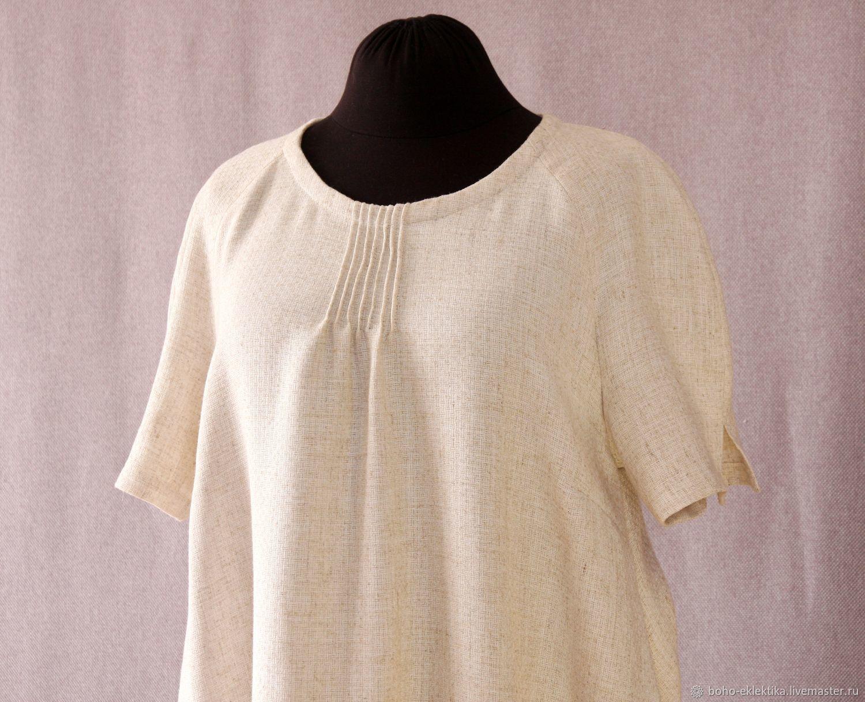Dresses handmade. Livemaster - handmade. Buy Gown tank summer women's.Dress, large size, dress tank