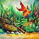 рыбки картина, аквариум, яркие рыбки картина, детская подводный мир, акварель рыбки, красочные рыбки картина, акварель аквариум декор, аквариум акварель картина, подводный мир акварель, подводный мир