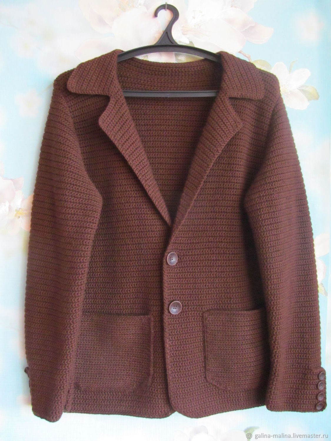 Jacket knitted, Suit Jackets, Penza,  Фото №1