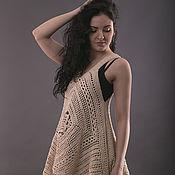Одежда ручной работы. Ярмарка Мастеров - ручная работа Туника в стиле бохо 2 размера. Handmade.