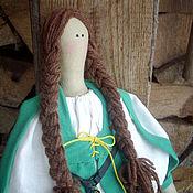 Куклы и игрушки ручной работы. Ярмарка Мастеров - ручная работа Кукла Тильда в ирландском костюме.. Handmade.