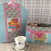 грелка на чайник и корзинка