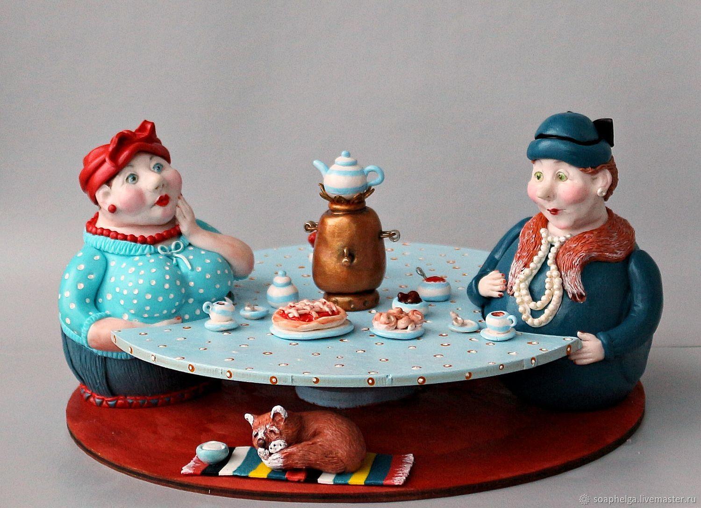 """Набор для специй (солонка, перечница) """"За рюмочкой чая"""", Банки, Костомукша,  Фото №1"""