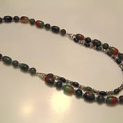 Украшения handmade. Livemaster - original item Necklace made of natural stones (agate)