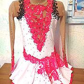 Одежда ручной работы. Ярмарка Мастеров - ручная работа Платье для фигурного катания. Handmade.