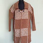 Одежда handmade. Livemaster - original item Knitted men`s coat