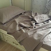 Для дома и интерьера handmade. Livemaster - original item Linen bed linen