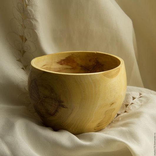 Вазы ручной работы. Ярмарка Мастеров - ручная работа. Купить пиала. Handmade. Комбинированный, деревянная пиала, экостиль, Деревянная посуда
