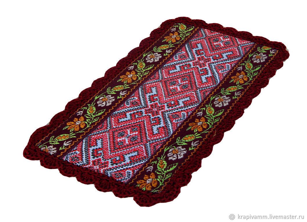 A plate made of stinging nettle fibers, Belt, Orel,  Фото №1