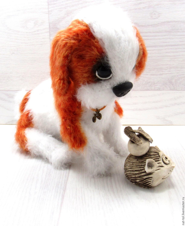 Амигуруми. Вязание крючком игрушки собачки в стиле амигуруми со схемами 5