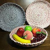Фруктовницы ручной работы. Ярмарка Мастеров - ручная работа Корзина для фруктов. Handmade.