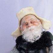 Куклы и игрушки ручной работы. Ярмарка Мастеров - ручная работа Дед Лукьян  (нашел дом). Handmade.