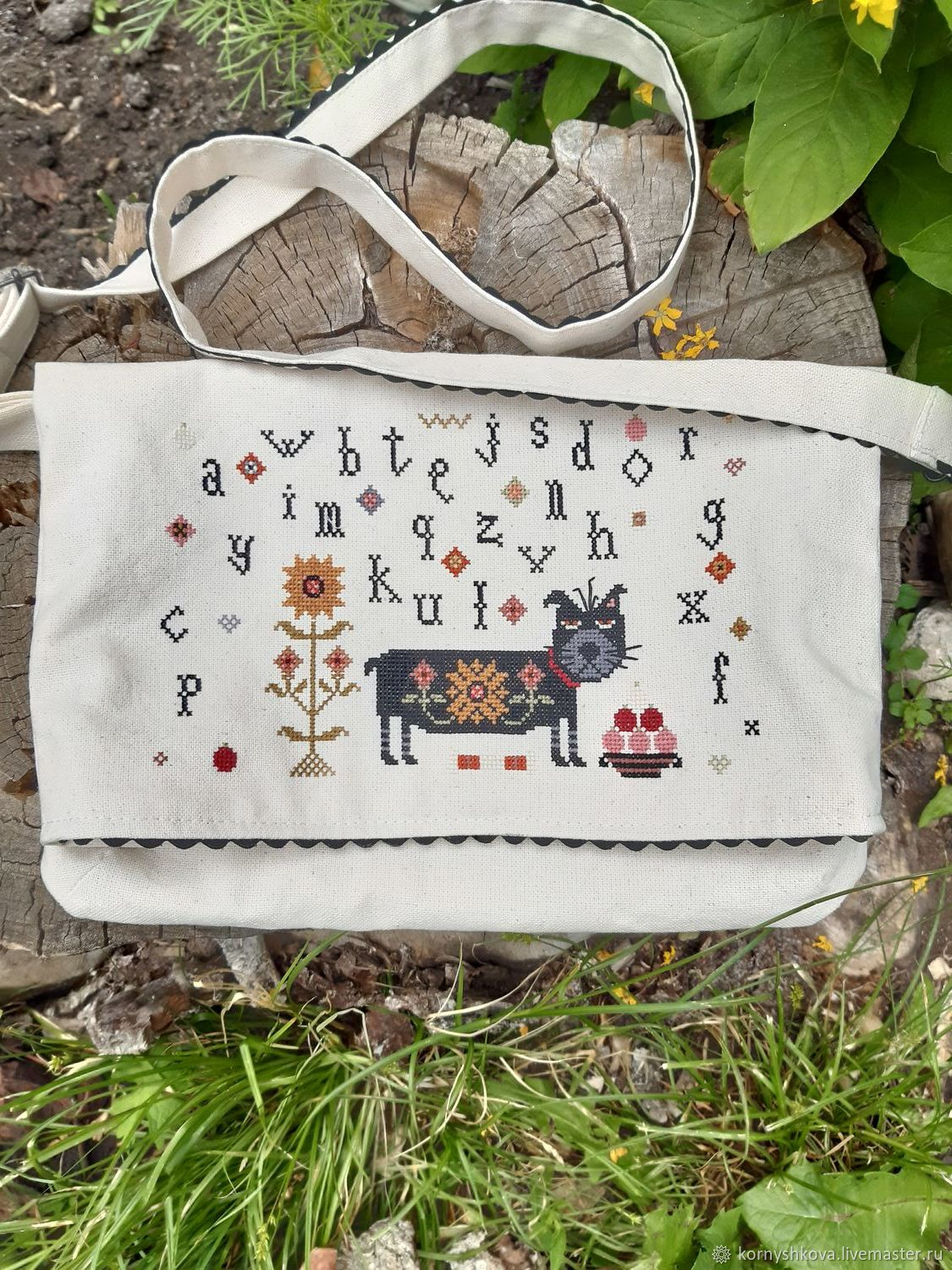 Clutch bag 'Without a cat and life is not the same', Clutches, Saransk,  Фото №1