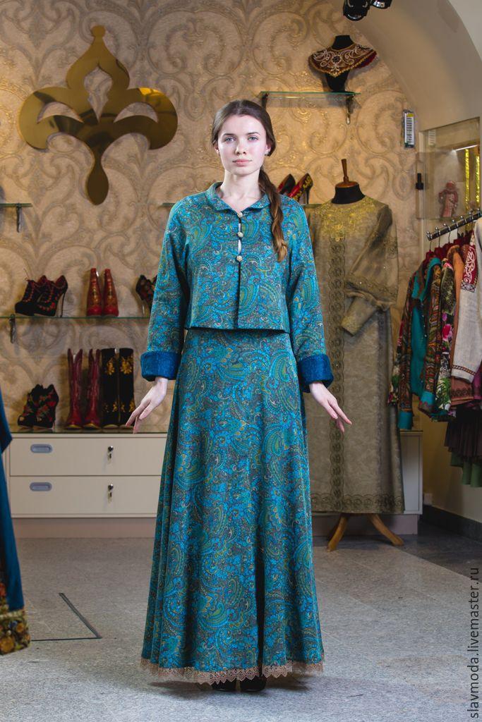 современный женский костюм для торжественных приемов