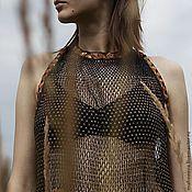 Одежда ручной работы. Ярмарка Мастеров - ручная работа Туника с янтарем. Handmade.