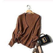 Одежда handmade. Livemaster - original item Cashmere pullover. Handmade.