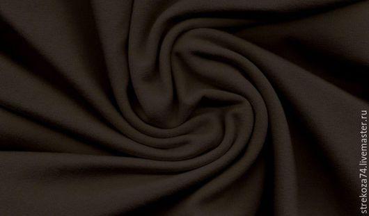 """Шитье ручной работы. Ярмарка Мастеров - ручная работа. Купить Футер с/л  """"Шоколад"""" 2-х нитка на изнанке петельки. Handmade."""