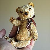 Куклы и игрушки ручной работы. Ярмарка Мастеров - ручная работа Осенний лучик, медведь тедди. Handmade.