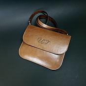 Сумки и аксессуары handmade. Livemaster - original item Small red-brown pul-ap purse. Envelope, clutch bag.. Handmade.