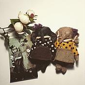 Куклы и игрушки ручной работы. Ярмарка Мастеров - ручная работа Нюра и Глаша. Handmade.