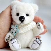 Куклы и игрушки ручной работы. Ярмарка Мастеров - ручная работа Белый медвежонок. Handmade.
