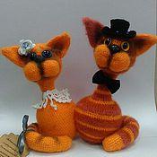 Куклы и игрушки ручной работы. Ярмарка Мастеров - ручная работа Кошки в подарок. Handmade.
