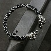 Украшения handmade. Livemaster - original item Bracelet white bronze Taurus Bull. Handmade.