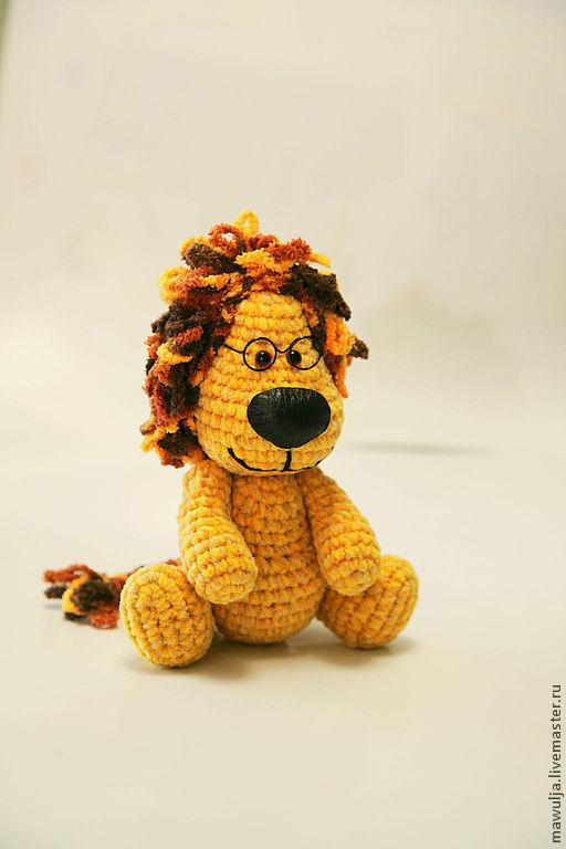 Игрушки животные, ручной работы. Ярмарка Мастеров - ручная работа. Купить Солнечный лев - вязаная игрушка. Handmade. Вязаная игрушка