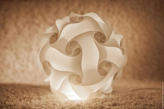Освещение ручной работы. Ярмарка Мастеров - ручная работа. Купить лампа-паззл LIGHT CLOUD. Handmade. Белый, подарок