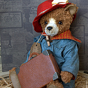 Куклы и игрушки handmade. Livemaster - original item Teddy Bears: Everyone knows the bear). Handmade.