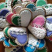 Подарки ручной работы. Ярмарка Мастеров - ручная работа Свадебные пряники. Handmade.
