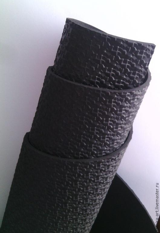 Валяние ручной работы. Ярмарка Мастеров - ручная работа. Купить Микропора 3мм черная (калейдоскоп). Handmade. Черный, подошва