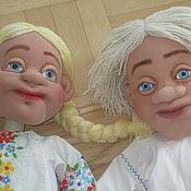 Куклы для театра на гапите в русском стиле