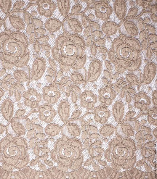 Шитье ручной работы. Ярмарка Мастеров - ручная работа. Купить Шерстяное кружево Winter Rose Beige-Nude от Sophie Hallette. Handmade.
