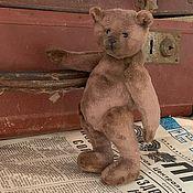 Мишки Тедди ручной работы. Ярмарка Мастеров - ручная работа Мишка тедди плюш коричневый. Handmade.