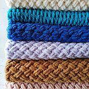 Для дома и интерьера handmade. Livemaster - original item Plush blanket in the stroller/crib. Handmade.