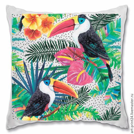 Текстиль, ковры ручной работы. Ярмарка мастеров - ручная работа. Купить декоративная подушка. Handmade.