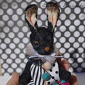Мишки Тедди ручной работы. Ярмарка Мастеров - ручная работа Миниатюрный кролик Кнопик. Handmade.