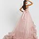 Платья ручной работы. Lilac Cloud. DRESSLAB. Интернет-магазин Ярмарка Мастеров. Свадебное платье, вечернее платье, платье с воланами