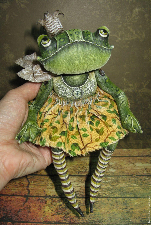 Куклы лягушку