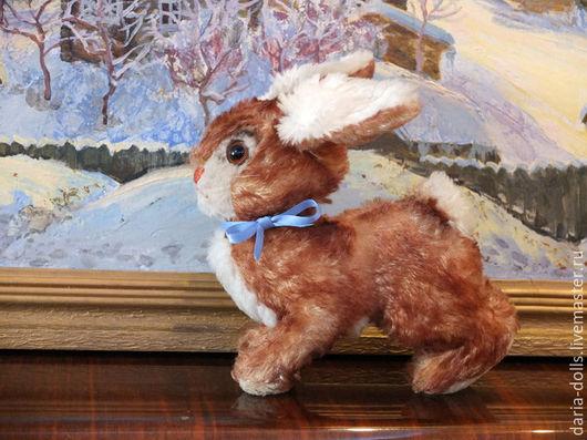 Винтажные куклы и игрушки. Ярмарка Мастеров - ручная работа. Купить Винтажный заяц (кролик) немецкой фирмы Steiff. Handmade. Бежевый