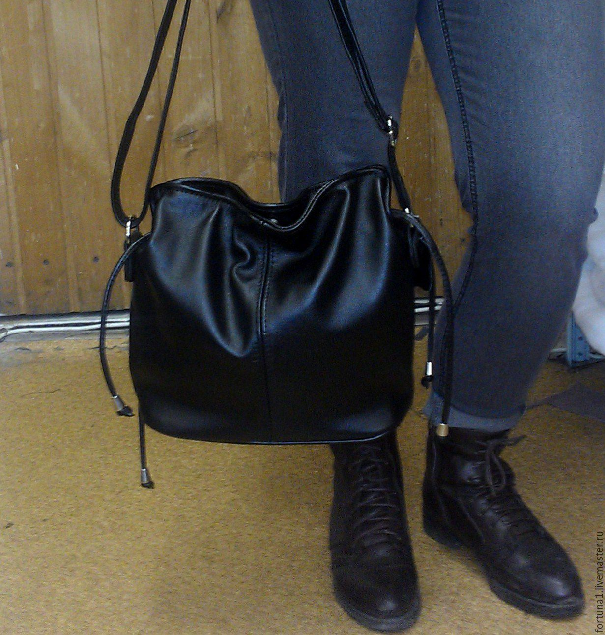 Leather bag 145, Classic Bag, St. Petersburg,  Фото №1
