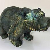 Для дома и интерьера ручной работы. Ярмарка Мастеров - ручная работа Медведь из лабрадора. Handmade.