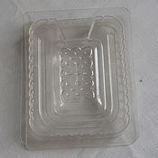 Материалы для творчества ручной работы. Ярмарка Мастеров - ручная работа Форма 3D для прямоугольного мыла, Bramble Berry, прозрачный пластик. Handmade.